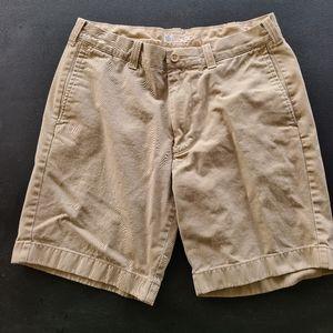 "Men's J. Crew Khaki Shorts 8"" Size 32"